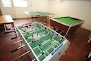 On-site games room