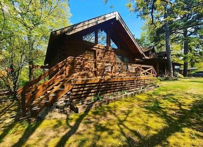 Lac Leatherwood, Eureka Springs, Arkansas, États-Unis d'Amérique