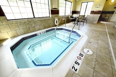 Enjoy the hot tub.