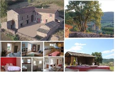 Verzé, Saône-et-Loire Département, Frankreich