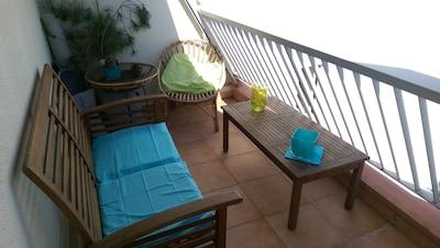 2 eme balcon  salon détente