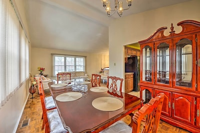 This Sicklerville home boasts upscale Victorian furnishings!