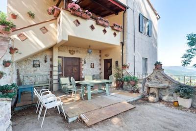 Stroncone, Umbria, Italia