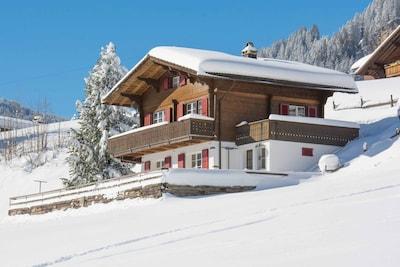 Lavey Ski Lift, Adelboden, Canton of Bern, Switzerland