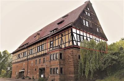 In der Wetterburg - Ferien im Mittelalter -Ritterzeit bei Bad Arolsen Twistesee