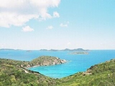 View of BVI from road approaching Seahaven.