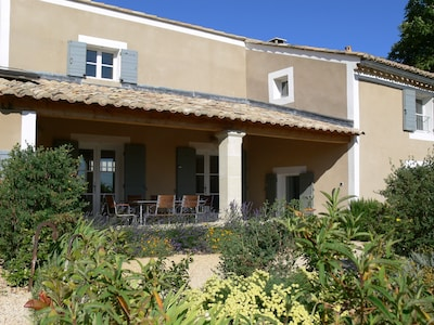 Les Marronniers, Villa mit Pool auf Weinberg in Drome Provençale