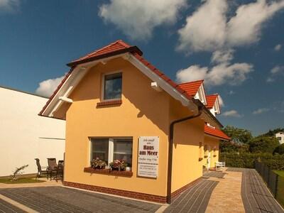 Außenansicht Haus am Meer