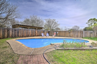 Experience Hill Country to the fullest at this Fredericksburg oasis!