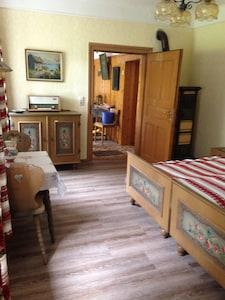 Ferienhaus-Vorderes Schlafzimmer