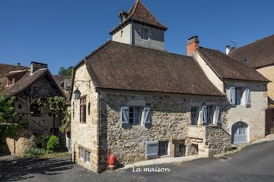 Carennac, Lot, Frankreich