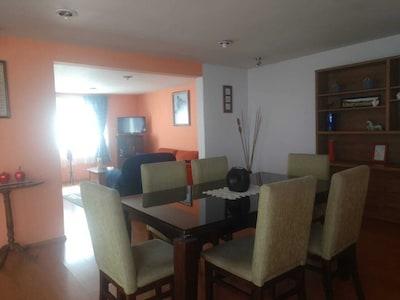 Departamento residencial cerca de zona industrial Lerma y Aeropuerto Toluca