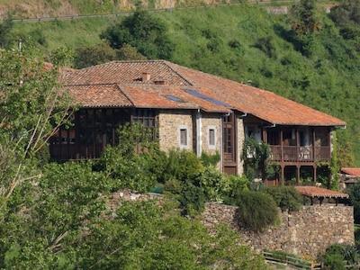 Barrio, Vega de Liebana, Cantabrië, Spanje