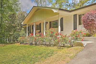 Less than 30 miles from downtown Atlanta, this home promises family adventure.