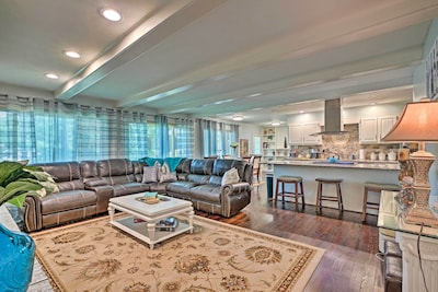 This Marietta vacation rental invites you to feel right at home!