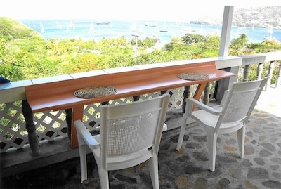 View from your private veranda