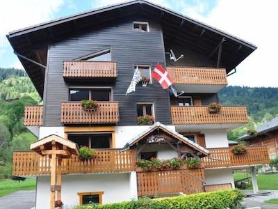 Station de ski de Bernex, Bernex, Haute-Savoie (département), France