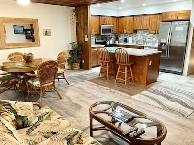 Beautiful, open, spacious  Kitchen, dinning room and living room