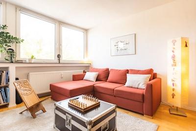 Schöne helle komfortable Wohnung in guter Lage!