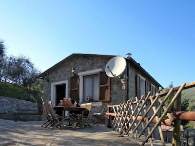 Santuario di Nostra Signora dell'Acquasanta, Montalto Ligure, Ligurië, Italië