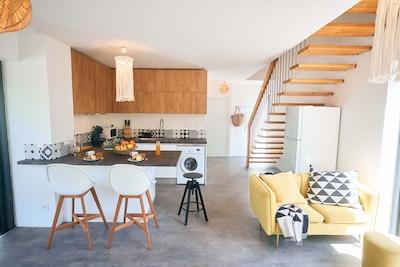 Cuisine / salon / séjour