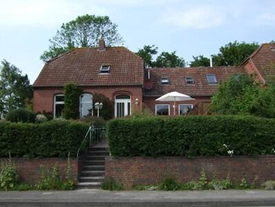 Nationalpark Haus-Gezeitenhaus, Baltrum, Niedersachsen, Deutschland