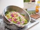 JAS Organic Vegetable Salad Enjoy delicious organic vegetables with 5 kinds of original dressing.