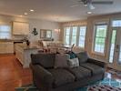 large living room / kitchen