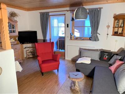 Isskogel-kabelbaan, Gerlos, Tirol, Oostenrijk