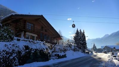 Le Châble, Bagnes, Valais, Suisse