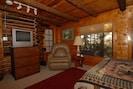 Comfortable Living Area w/ TV-DVD-CD  Books & Board Games  -