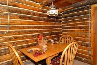 Original Hand Hewn Old World Log Cabin Construction