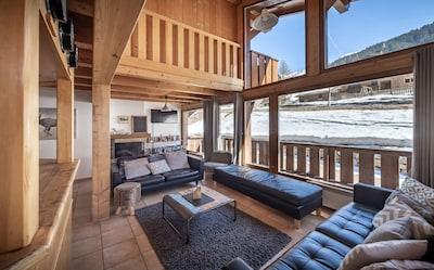 Telesilla Chamonix - Planpraz, Chamonix-Mont-Blanc, Alta Saboya (departamento), Francia