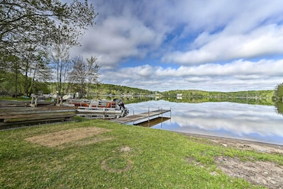 Spend sunny summer days swimming & boating from the home's private dock.