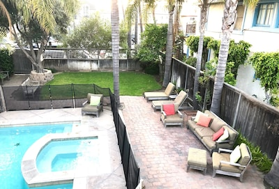 Large Patio Area with BBQ