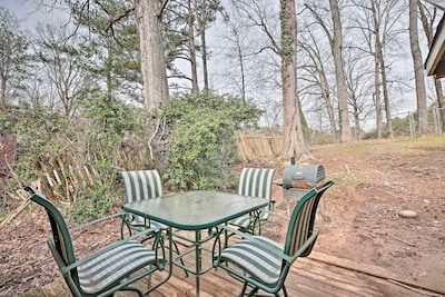 With a private fenced-in yard, you can enjoy quiet moments to yourself.