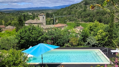 Rochecolombe, Ardeche (department), France