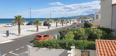 En bord de mer, parking privatif gratuit