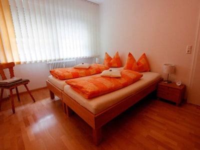Ferienwohnung 54qm, 1 Schlafzimmer, max. 2 Personen-Schlafzimmer