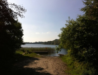 Local lake, 2 miles from the stables
