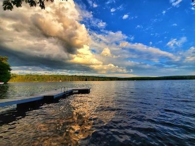 Upper Range Pond, Poland, Maine, United States of America