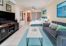 Gorgeous Designer furniture, Super comfy sleeper couch, Brand NewAC, SmartTV