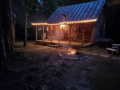 Rustic Cabin Experience on 16 Acres
