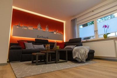 Couch zum Schlafen ausziehbar auf 1,90 x 1,25 m