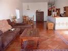 Wohnzimmer mit Blick auf denLeuchtum von Trfalgar
