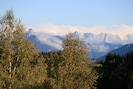 Blick auf Zugspitze und Säuling