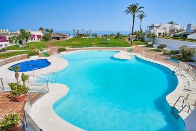 Playa del Sol-Villacana, Estepona, Andalousie, Espagne