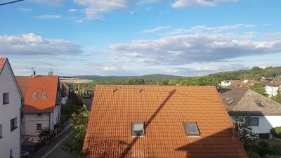 Blick von der Dachloggia