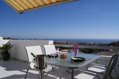 Golfclub La Siesta, Mijas, Andalusien, Spanien