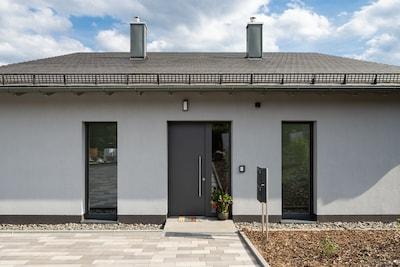 Ferienhaus Altstadtblick Bad Wildungen - Eingang für Haus 1 und Haus 2